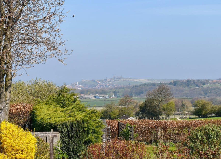 View Of Whitby from shared Garden